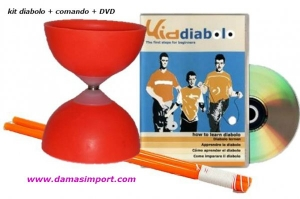Modelo D101 + comando PVC + DVD instructivo