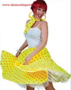 Modelo Campana amarilla. Incluye pañuelo. Adulto