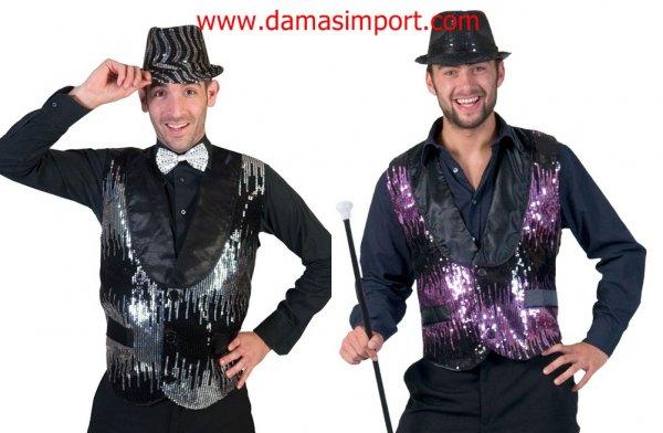 VERDE glitter CLOWN/'S Bombetta-Abito Fantasia In Plastica Per Adulti Costume Festa