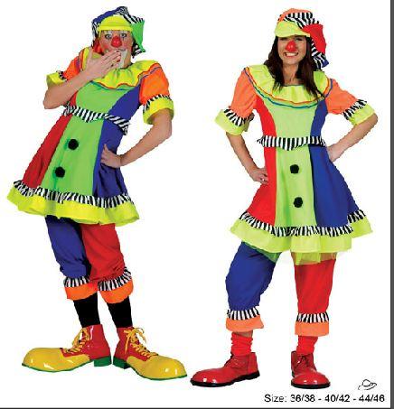 790e61b13a Costume-Clown-Donna. Descrizione: Costume clown per adulti ...
