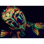 Body painting Fluo