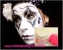 Maquillaje artístico blanco