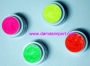 Maquillaje fluo o UV