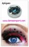 Maquillaje-artistico-glitter